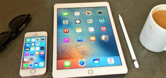 iPhone SE и iPad Pro 9,7''