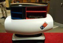 робот-разносчик пиццы