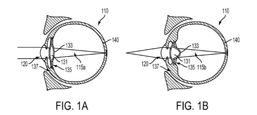 Google патентует умную линзу, которую вживляют человеку в глаз