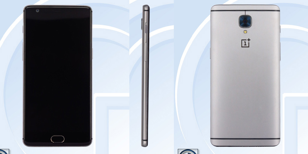 Первые изображения и технические характеристики OnePlus 3