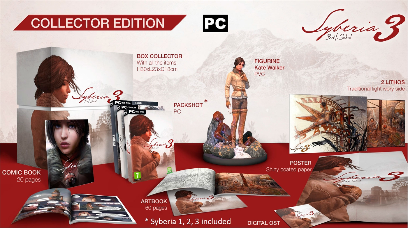 Syberia III Collectors Edition