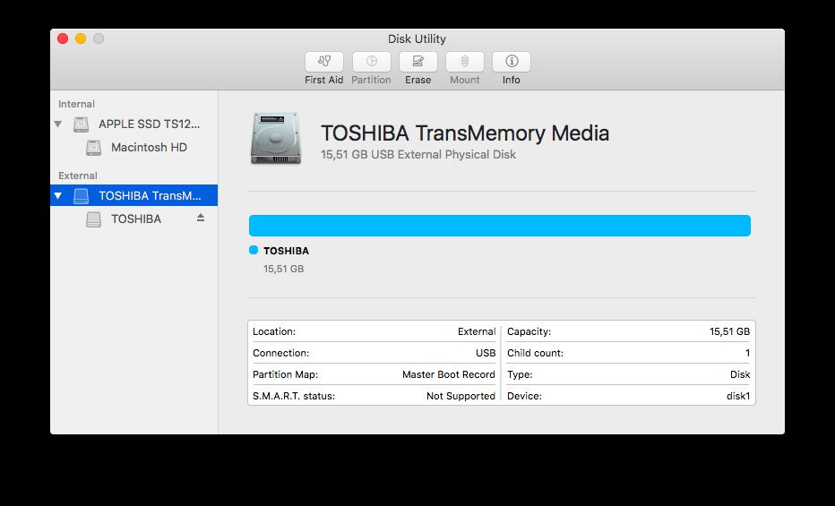 Toshiba TransMemory U204
