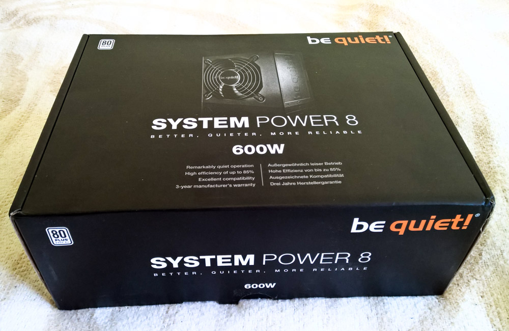 be quiet! System Power S8 600W