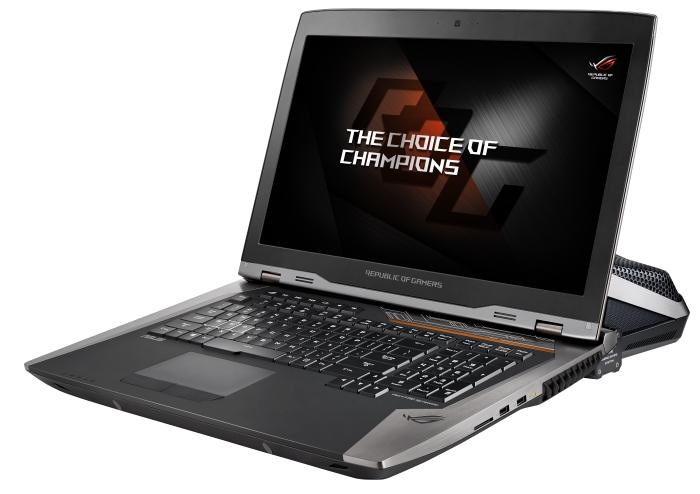На ноутбуки ASUS ROG установят видеокарты серии GeForce GTX 10