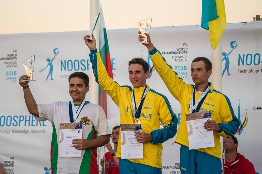 Украинцы стали чемпионами по ракетомоделированию