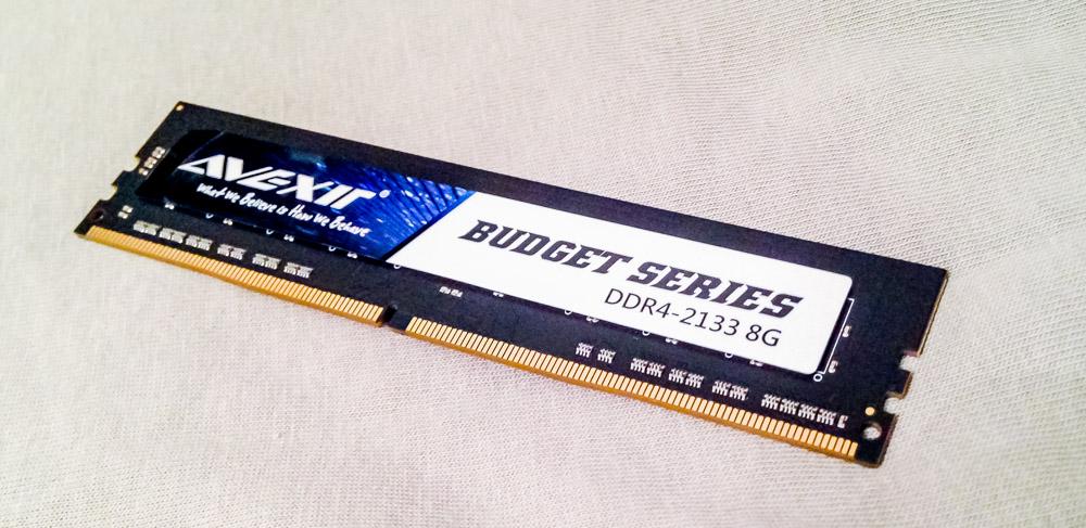Avexir Budget DDR4