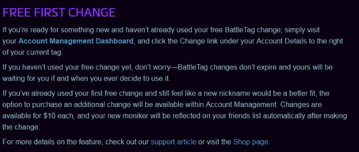 battletag change