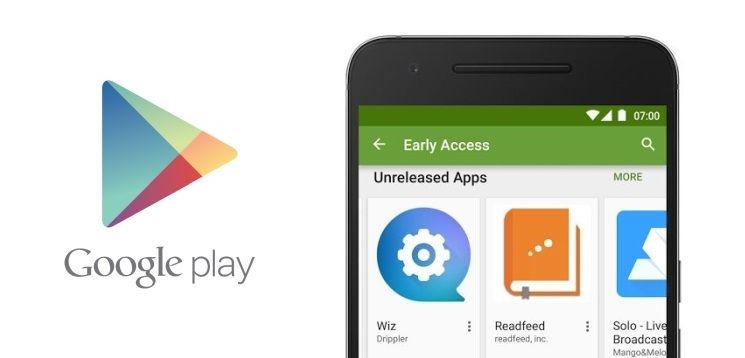 Google Play Early Access