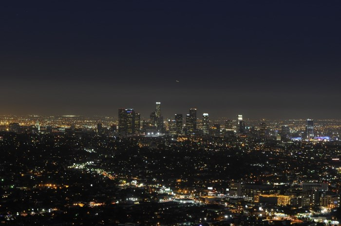 los angeles lights