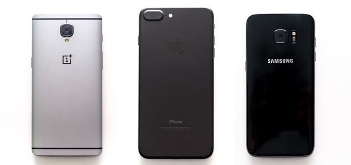 iphone 7 vs samsung galaxy s7 камера