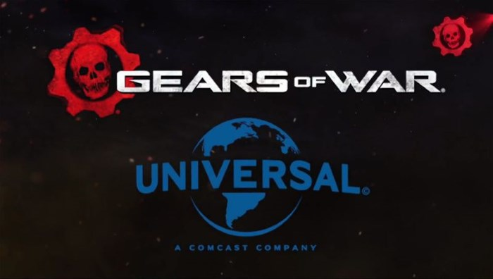 gears of war movie announce