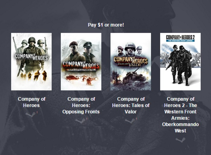 humble company of heroes bundle