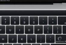 macbook pro magic toolbar