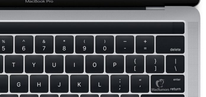 macbook pro magic toolbar