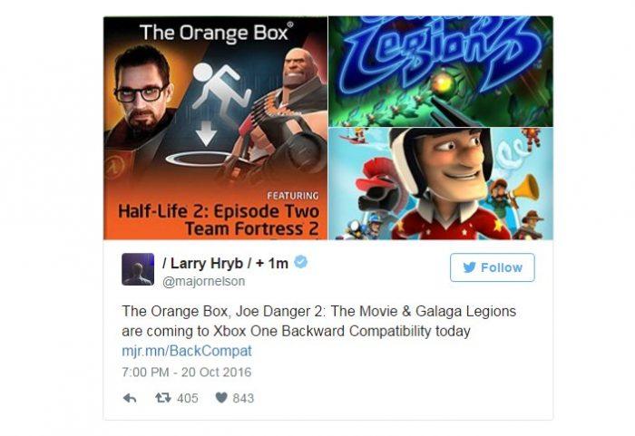 orange box xbox one