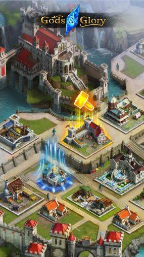 Первая мобильная игра WG Labs, Gods And Glory, вышла в релиз