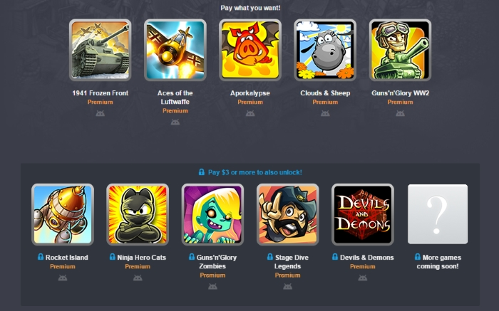 Вышла новая Humble Bundle от HandyGames