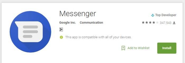 messenger rcs