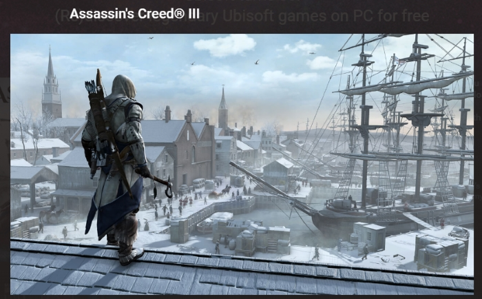 assassin's creed 3 free
