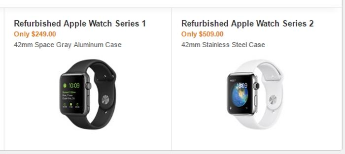 apple watch refurb