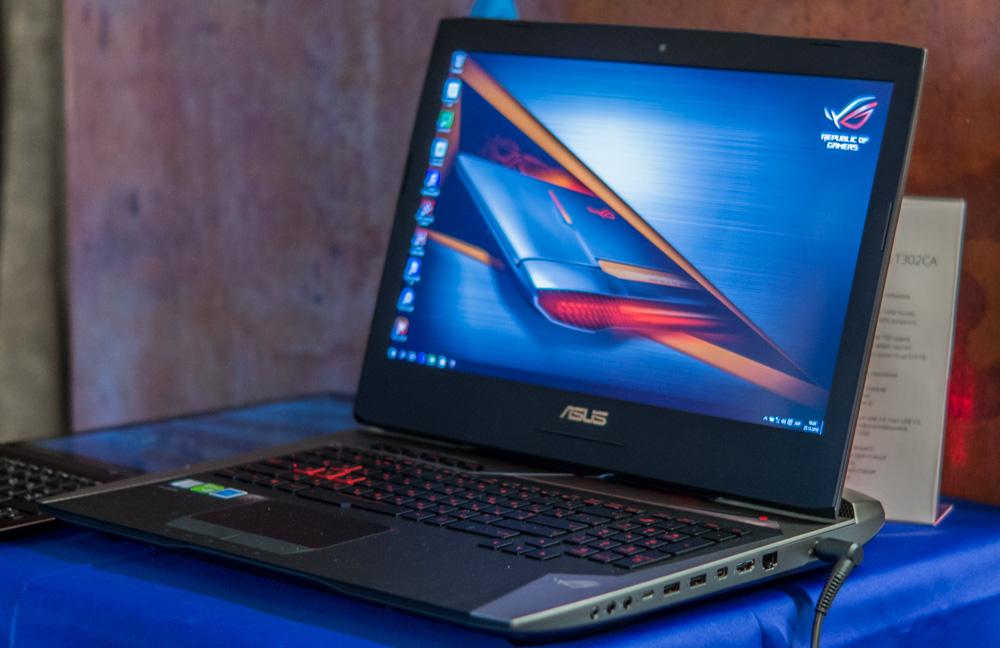Отчёт с презентации ASUS: игровые ноутбуки, ультрабуки и трансформеры