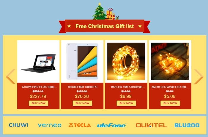 gearbest christmas sales