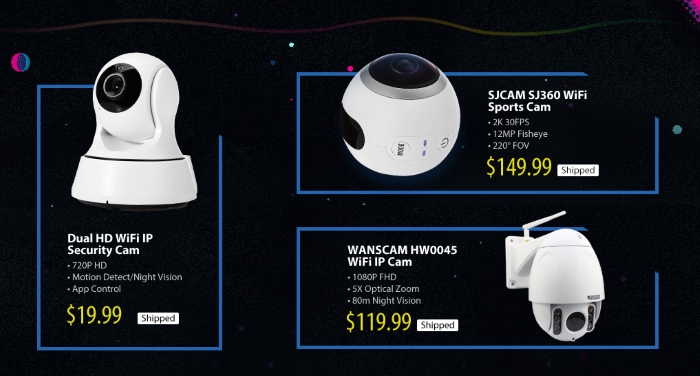 ip cams gearbest