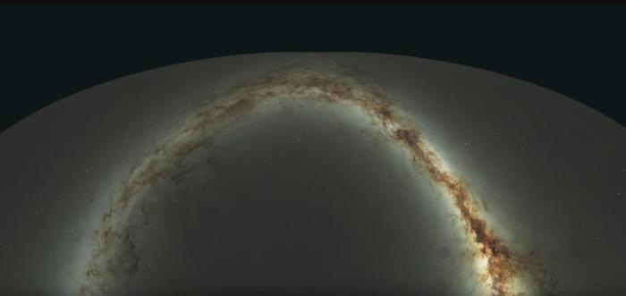 observed universe portrait