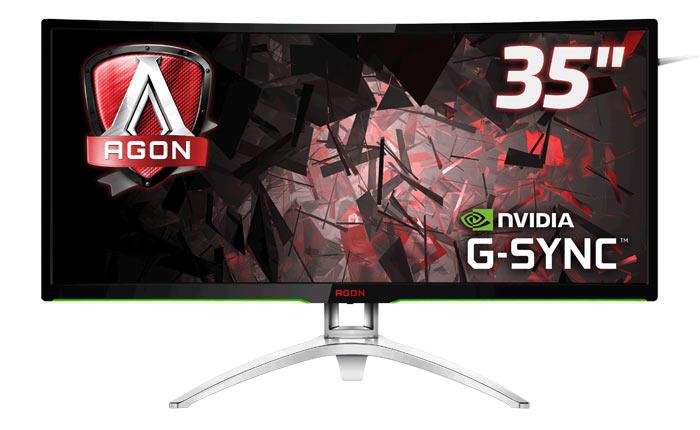Представлен изогнутый игровой монитор AOC AGON с поддержкой NVIDIA G-SYNC