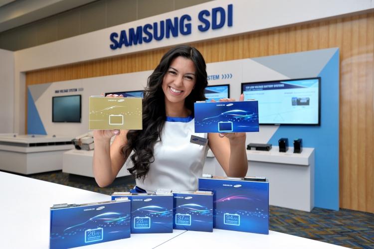 Samsung представляет самые эффективные аккумуляторы для электрокаров