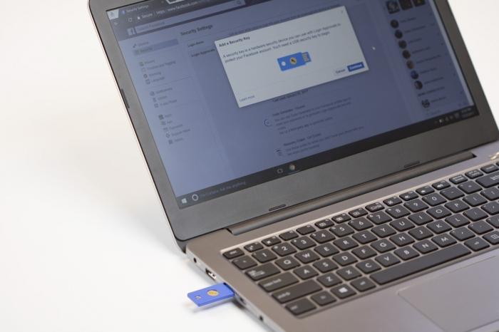 USB-ключ Facebook