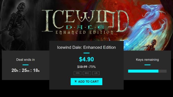 Icewind Dale Enhanced Edition bundle stars