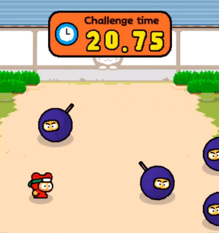 Ninja Spinki Challenges 1