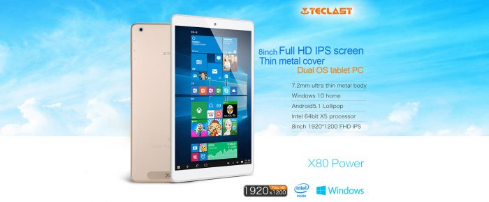 Teclast X80 Power gearbest