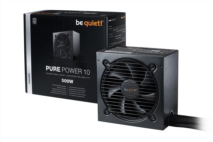 be quiet! обновила флагманскую модель БП Pure Power 10 + конкурс