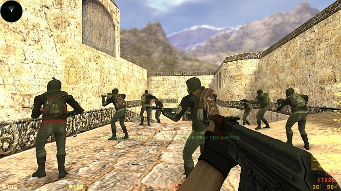 Учимся играть в Counter-Strike 1.6