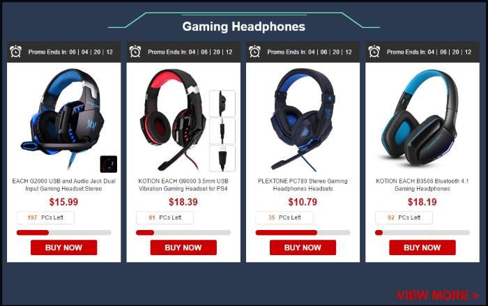 gearbest headsets