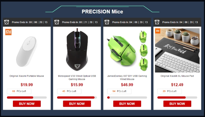 gearbest mouses