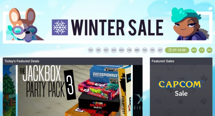 humble bundle winter sale title