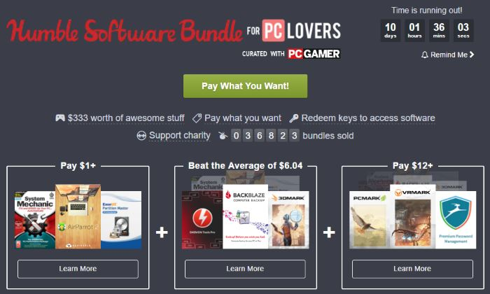 Humble Software Bundle 3