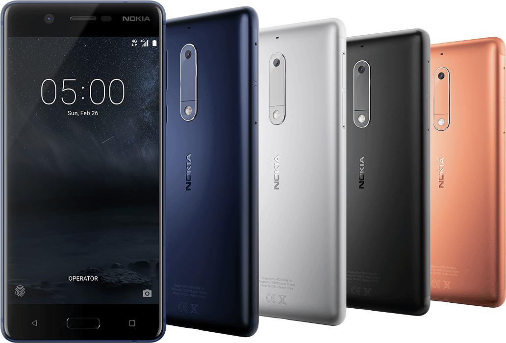 Nokia 7 и Nokia 8 готовятся к выходу с Qualcomm Snapdragon 660