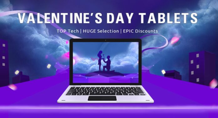 gearbest valentine tablet promo title