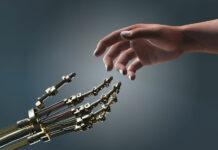 Робот и человек