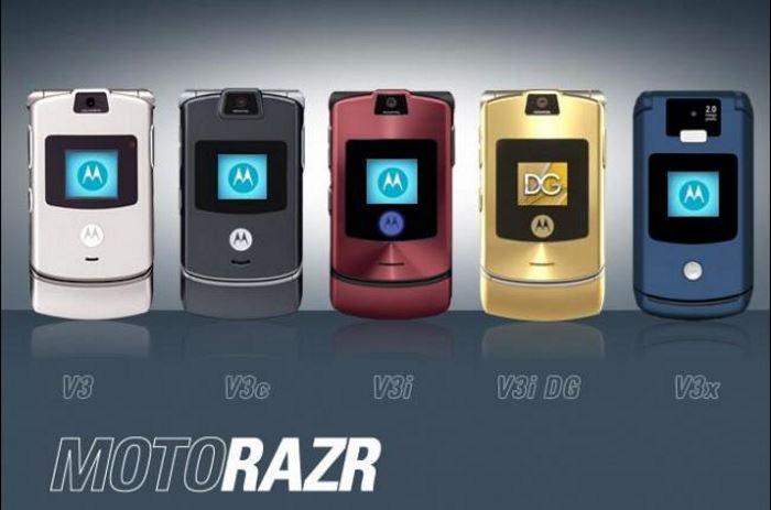 Lenovo подумывает над возвращением Motorola RAZR?