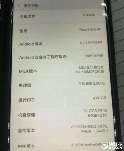 Xiaomi Redmi Note 4X вийде в день святого Валентина