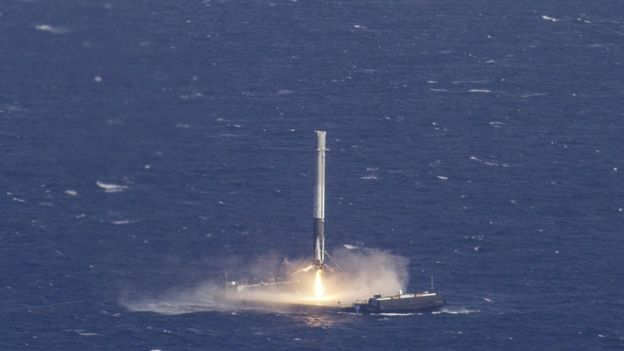 SpaceX вперше повторно запустила використану ступінь Falcon 9