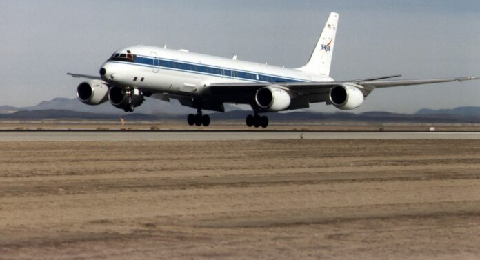 Douglas DC 8 nasa