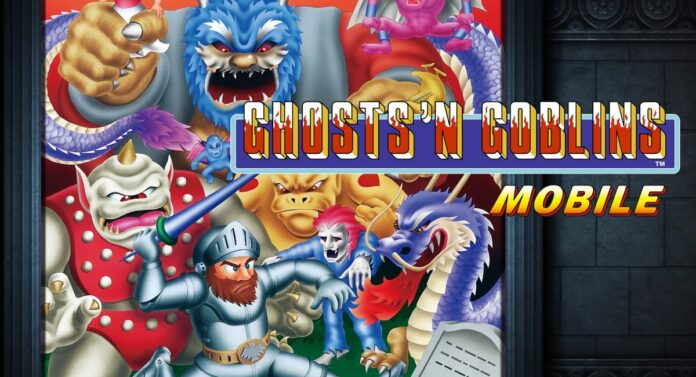 Ghosts'n Goblins release title