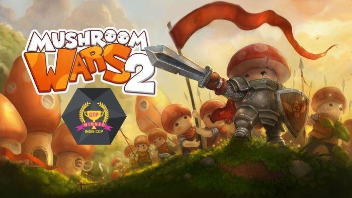 Mushroom wars 2 GTP Indie Cup