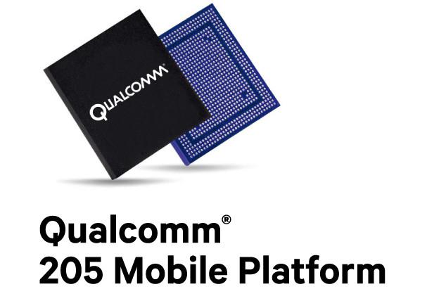 Анонсована мобільна платформа Qualcomm 205 для смартфонів початкового рівня